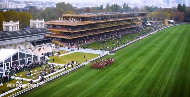 Prix de L'Arc de Triomphe - Longchamp - Foto: CNN International