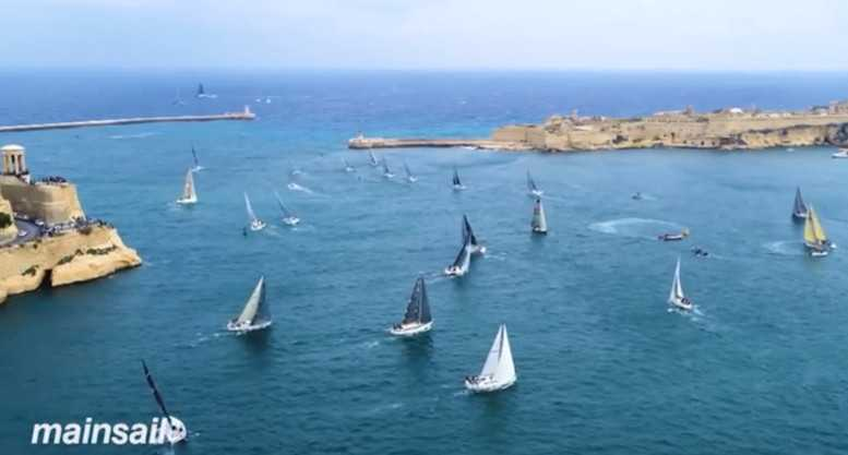 CNN Mainsail Rolex Middle Sea Race - Foto: CNN International