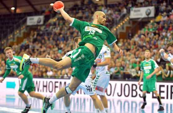 Maximilian Janke - SC DHfK Leipzig vs. Frisch Auf Göppingen - Foto: Rainer Justen