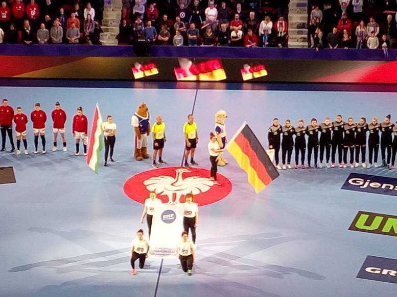 Handball EM 2018 - Deutschland vs. Ungarn - Nancy am 09.12.2018 - Foto: SPORT4FINAL