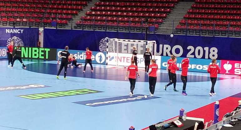 Handball EM 2018 Training Deutschland in Nancy am 06. Dezember 2018 - Foto: SPORT4FINAL