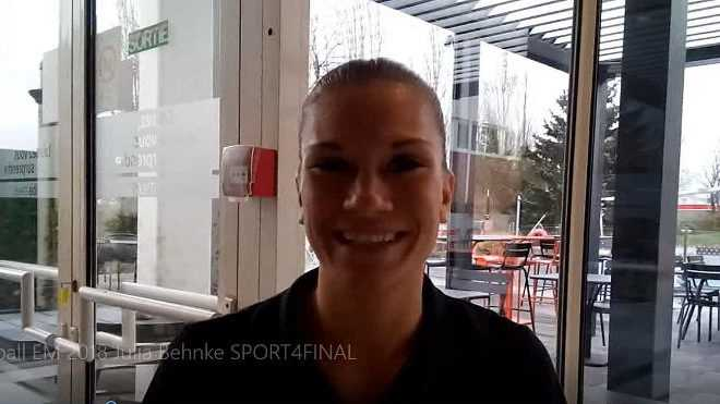 Handball EM 2018 - Julia Behnke - Deutschland - Medientag am 08.12.2018 in Nancy - Foto: SPORT4FINAL