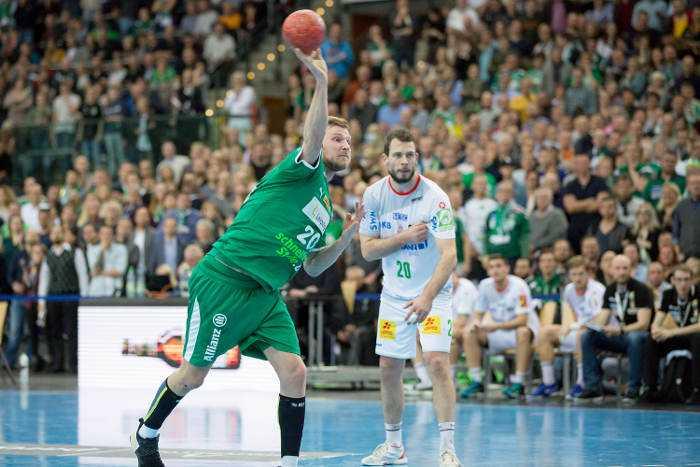 Philipp Weber - SC DHfK Leipzig vs. SC Magdeburg - Foto: Karsten Mann