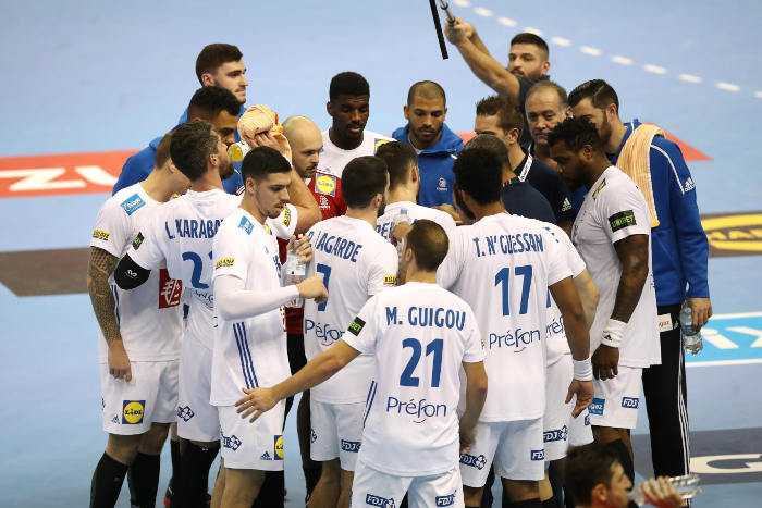 Handball WM 2019: Frankreich vs. Brasilien - Copyright: FFHandball / S. Pillaud