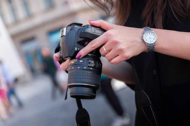 Spiegelreflexkamera - Quelle: Pexels