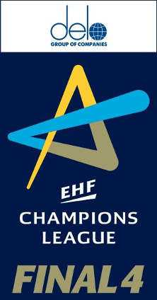 DELO Logo - Handball Frauen EHF Champions League - Foto: EHF Media