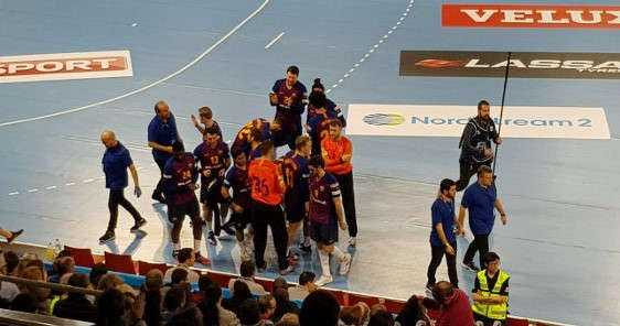 Handball VELUX EHF Champions League: FC Barcelona vs. Rhein-Neckar Löwen am 2. März 2019 im Palau Blaugrana - Foto: Rolf Bernardi