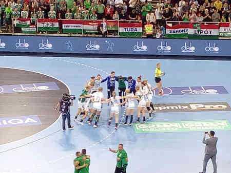 Györi Audi ETO KC - Halbfinale Handball EHF Final4 - Foto: SPORT4FINAL