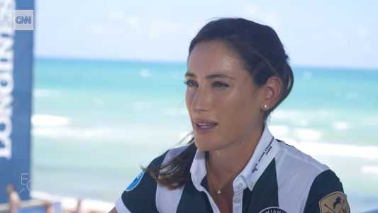 CNN Interview mit der amerikanischen Springreiterin Jessica Springsteen