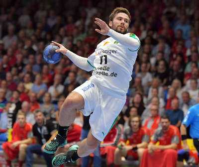 Lukas Binder - SC DHfK Leipzig - Foto: Rainer Justen