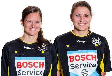 Maike Merz und Tanja Schilha - Handball Schiedsrichterinnen