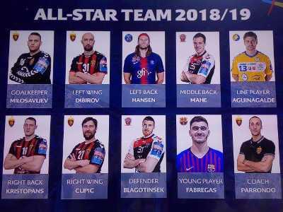 Handball Champions League All-Star-Team 2018-2019 - Foto: SPORT4FINAL