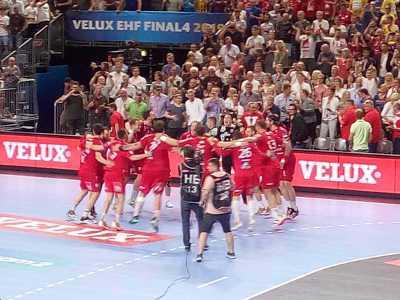 Telekom Veszprem VELUX EHF Final4 Halbfinale gegen PGE Vive Kielce - Foto: SPORT4FINAL