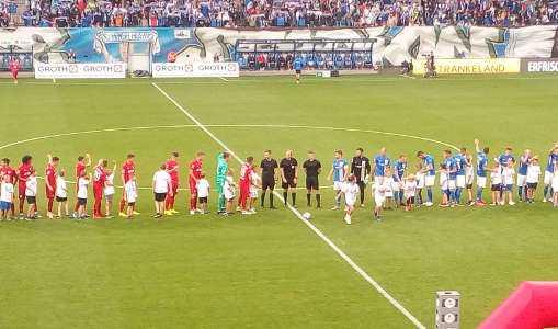 FC Hansa Rostock vs. FC Bayern München II - Ostseestadion am 30.07.2019 - Foto: SPORT4FINAL