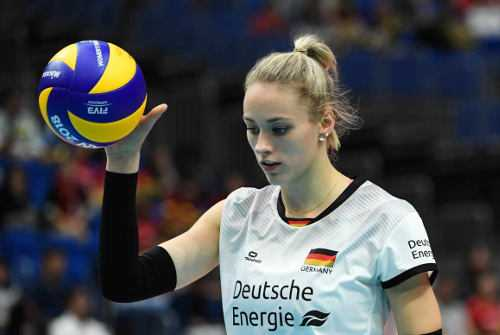 Louisa Lippmann - Deutschland - Volleyball EM - Foto: Getty Images