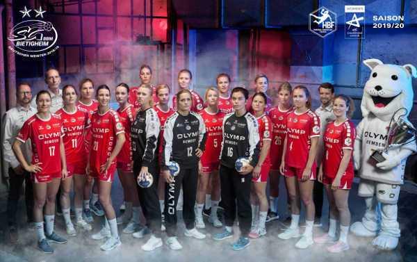 SG BBM Bietigheim - Handball Saison 2019-2020 - Bundesliga und EHF Champions League - Foto: SG BBM Bietigheim