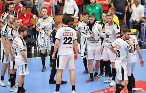 SC DHfK Leipzig bei den Eulen Ludwigshafen - Handball Bundesliga am 05.09.2019 - Foto: Rainer Justen