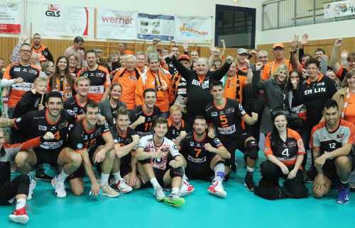 BR Volleys vs. Netzhoppers KW-Bestensee - Foto: BR Volleys