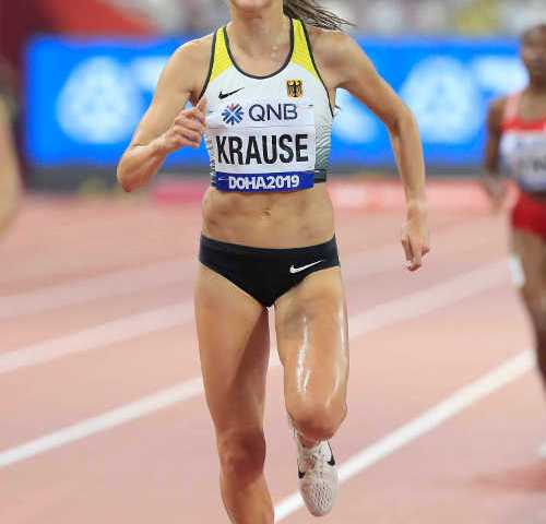Leichtathletik WM 2019 - Gesa Felicitas Krause - Foto: © Getty Images for IAAF