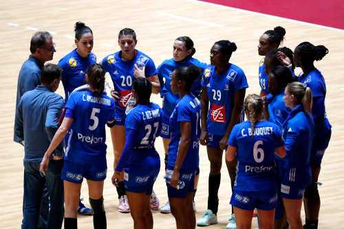 Frankreich - Japan Cup 2019 - Foto: FFHandball / S. Pillaud