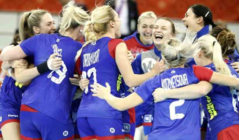 Handball WM 2019 Bronze - Russland vs. Norwegen - Copyright: IHF