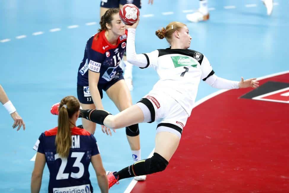 Handball WM 2019 - Meike Schmelzer - Deutschland vs. Norwegen - Copyright: IHF