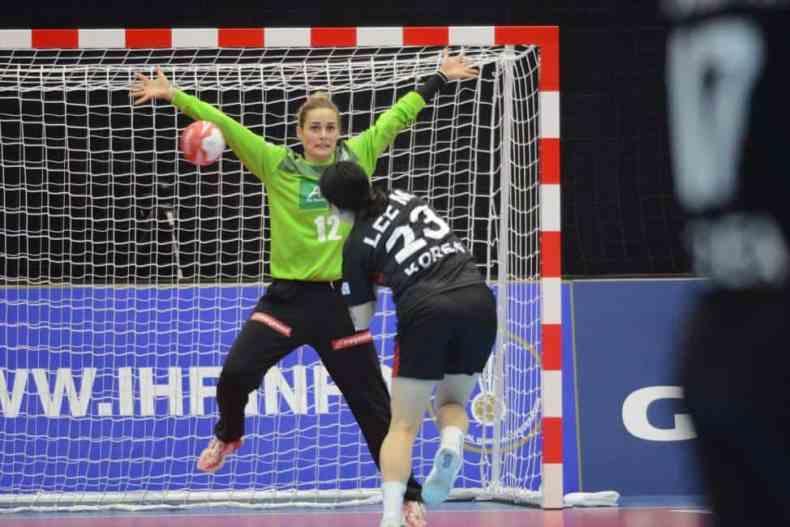 Handball WM 2019 - Dinah Eckerle - Deutschland vs. Südkorea - Copyright: IHF