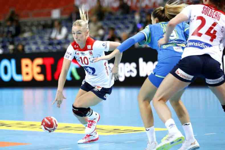 Handball WM 2019 - Stine Oftedal - Norwegen vs. Slowenien - Copyright: IHF