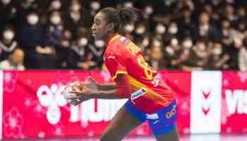 Handball WM 2019 - Alexandrina Cabral - Spanien vs. Montenegro - Copyright: IHF
