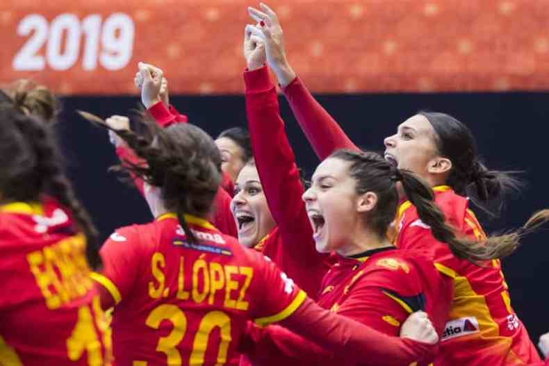 Handball WM 2019 - Spanien vs. Montenegro - Copyright: IHF