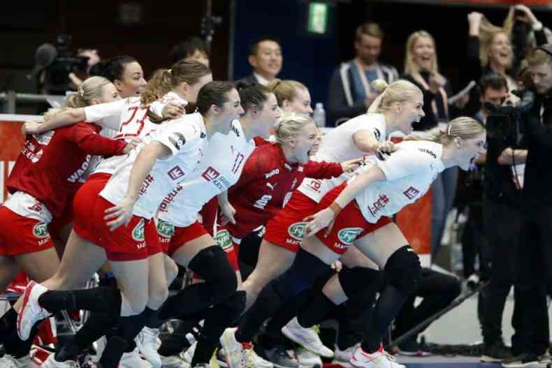Handball WM 2019 - Team Dänemark vs. Frankreich - Copyright: IHF