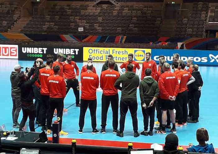 Handball EM 2020 Deutschland beim Training in Stockholm - Copyright: SPORT4FINAL