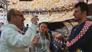 Handball EM 2020 - Domagoj Duvnjak und Frank Zepp - Copyright: Rolf Bernardi