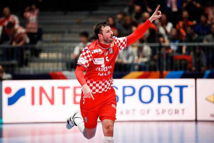 Handball EM 2020 - Domagoj Duvnjak - Kroatien vs. Weißrussland - Foto: hrsphoto.photodeck.com