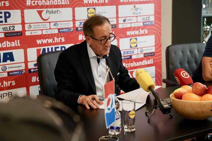 Handball EM 2020 - Lino Cervar - Kroatien - Foto: hrsphoto.photodeck.com