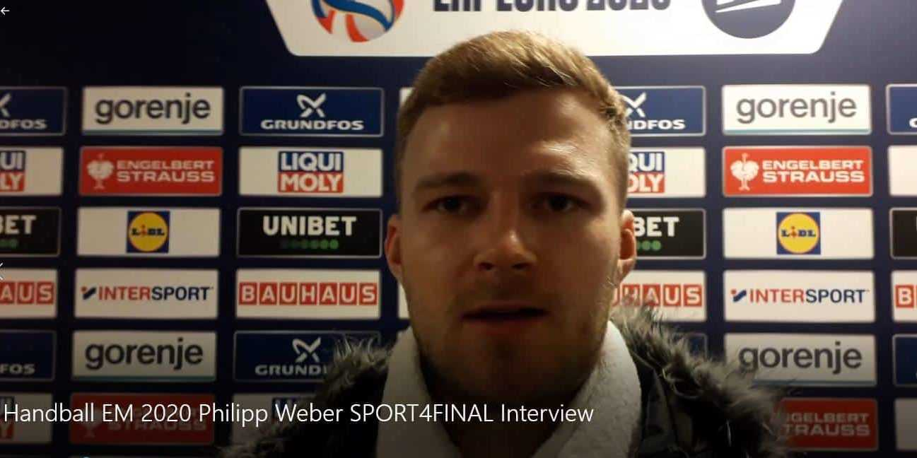Handball EM 2020 - Philipp Weber - Copyright: SPORT4FINAL