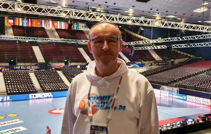 Handball EM 2020 - Frank Zepp - Wien - Copyright: SPORT4FINAL