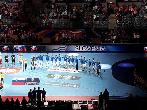 Handball EM 2020 - Team Slowenien vs Spanien - Copyright: SPORT4FINAL