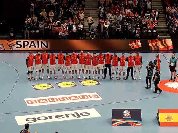 Handball EM 2020 - Team Spanien vs Kroatien - Copyright: SPORT4FINAL