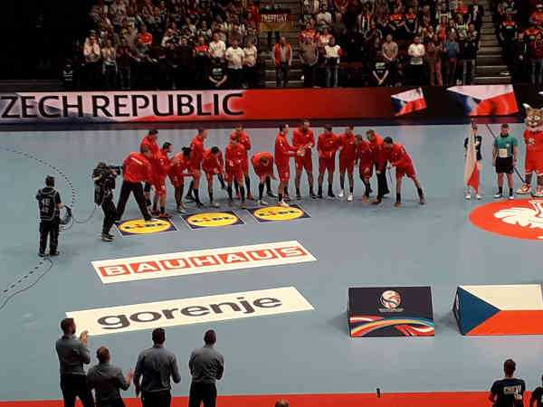 Handball EM 2020 - Team Tschechien vs Deutschland - Copyright: SPORT4FINAL