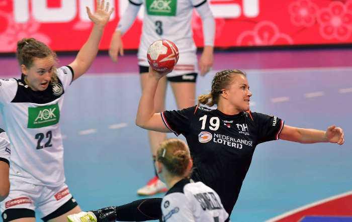 Handball WM 2019 - Merel Freriks - Niederlande vs. Deutschland - Copyright: Henk Seppen