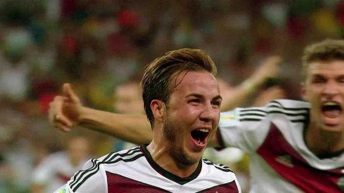 Mario Götze - Deutschland - Die Mannschaft - FIFA Fußball WM 2014 - Quelle: FIFA