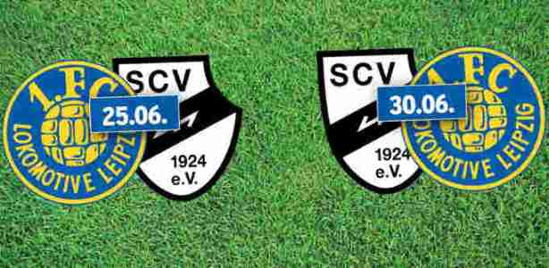 1. FC Lok Leipzig vs. SC Verl - Relegation 3. Fußball Liga - Foto: 1. FC Lok Leipzig