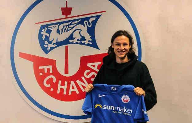 F.C. Hansa Rostock nahm Gian Luca Schulz unter Vertrag - Foto: © FC Hansa Rostock