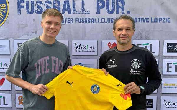 Niklas Schneider und Almedin Civa - Foto: 1. FC Lok Leipzig