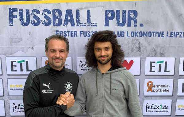 Almedin Civa und Zak Paulo Piplica - Foto: 1. FC Lok Leipzig