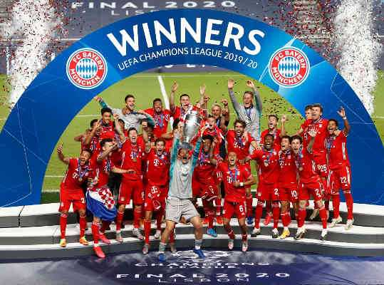 FC Bayern München - Fußball UEFA Champions League Sieger 2020 in Lissabon - Foto: Getty Images Europe