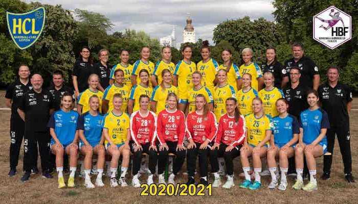 HC Leipzig - Handball 2. Bundesliga - Saison 2020-2021 - Foto: HC Leipzig