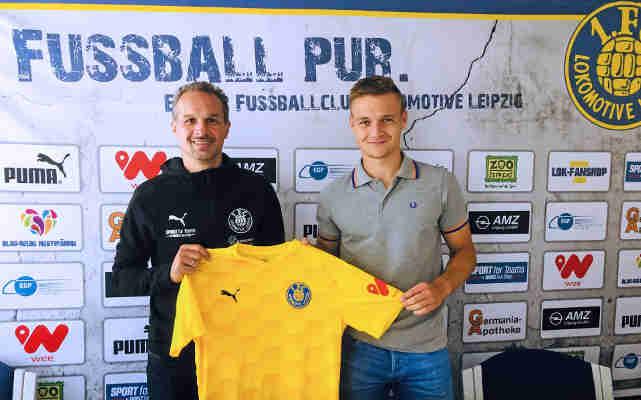 Edvardas Lucenka - Foto: 1. FC Lok Leipzig