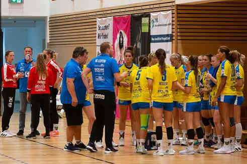 HC Leipzig (im Bild) vs. Sachsen Zwickau - Foto: HC Leipzig